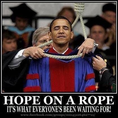 Hope on a rope