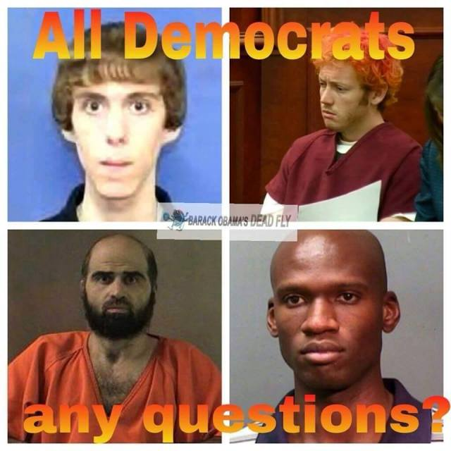 Democrat mass shooters