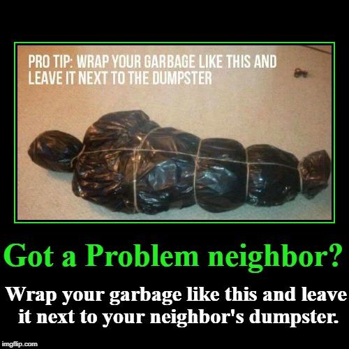 Problem neignbor